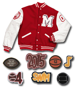 letter jacket patches balfour home www graduatesales 8127